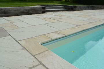 Cotswold Mint Riven Sandstone Natural Stone Copings